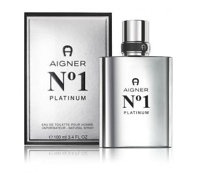 Aigner No.1 Platinum Men EDT 100ml