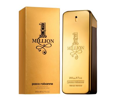 Paco Rabanne 1 Million Men EDT 200ml