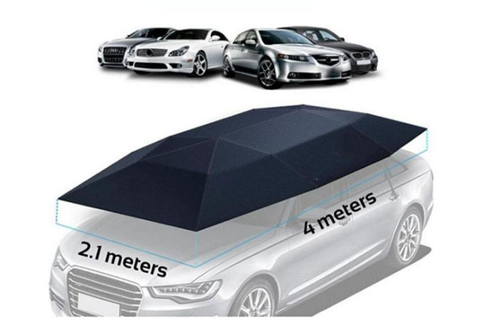 Portable Remote Control Automatic Car Cover Tent Waterproof Auto Car Covers Folding Umbrella Roof Sunshade Sun UV Protection